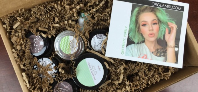 Orglamix Vegan Beauty Subscription Box Review & 50% Off Coupon – March 2016