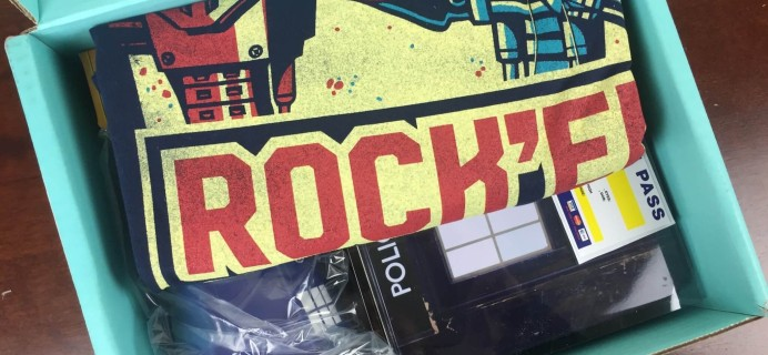 Sci-Fi Block March 2016 Subscription Box Review + Coupon