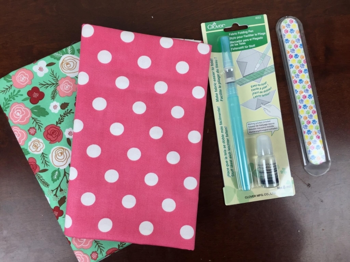 stitch box monthly february 2016 review