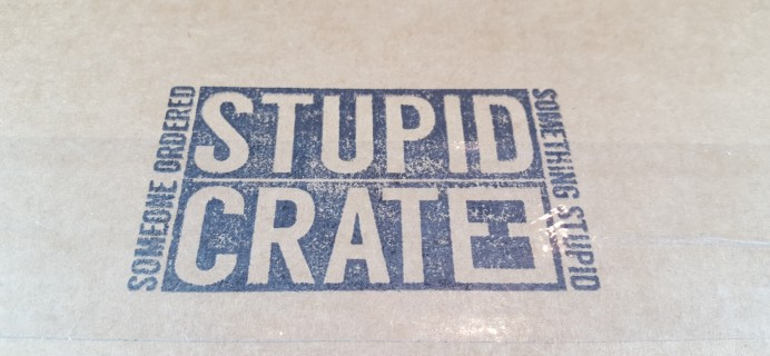 StupidCrate February 2016 Subscription Box Review & Coupon