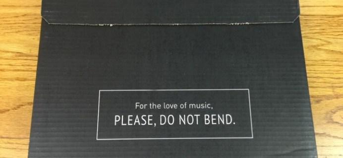 Vinyl Me, Please Subscription Box Review – March 2016