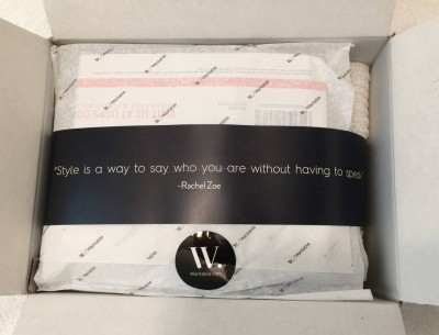 Wantable Style Edit Subscription Box Review – February 2016