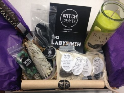 Witch Crate Subscription Box Review & Coupon – February 2016