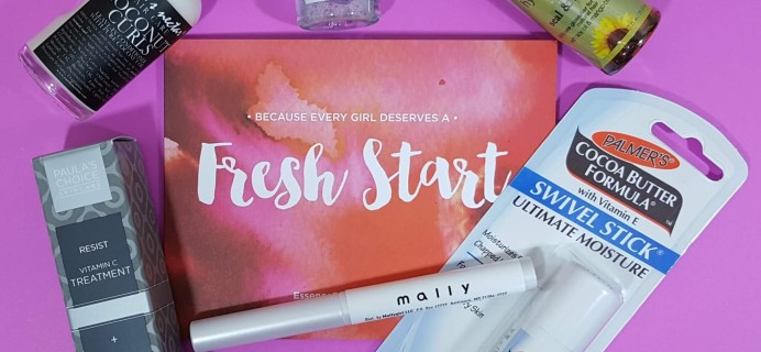Essence Beauty Box April 2016 Subscription Box Review & Coupon