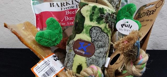 PawPack Dog Subscription Box Review – April 2016