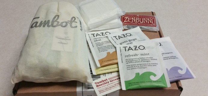Tambot Subscription Box Review