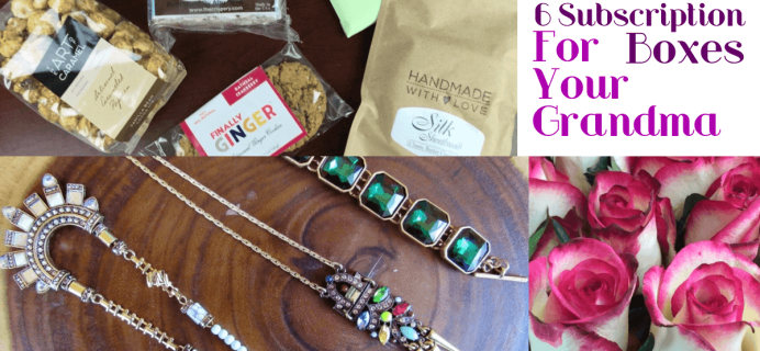 6 Monthly Subscription Boxes for Grandmas!