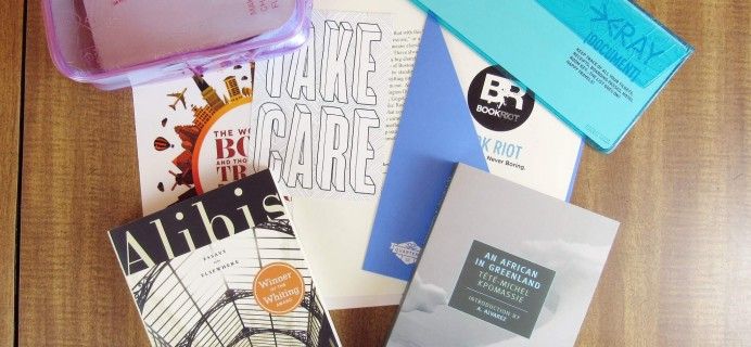 Book Riot #BKR10 Quarterly Subscription Review