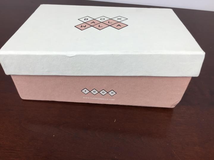 Boxwalla Food April 2016 box