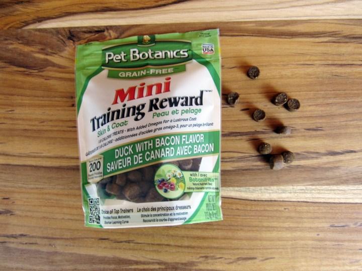 Pet Botanics Mini training Reward Treats