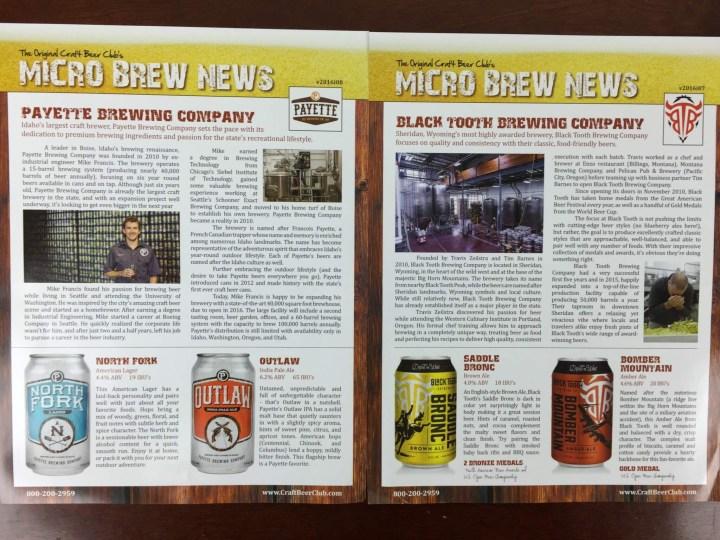 Craft Beer Club Box April 2016 (1)