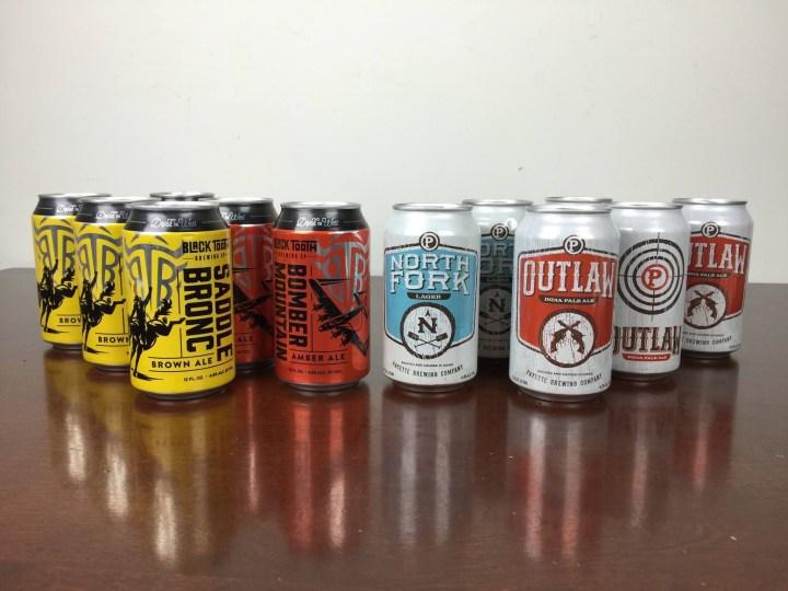 Craft Beer Club Box April 2016 review