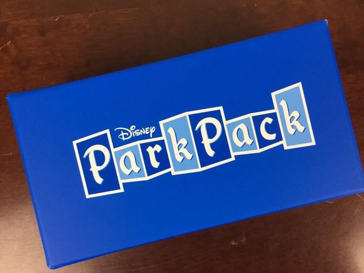 Disney Park Pack Box April 2016 box