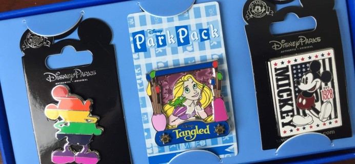 Disney Park Pack April 2016 Subscription Box Review – Pin Trading Edition