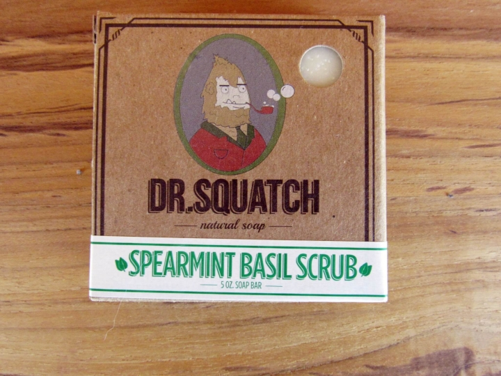 Spearmint Basil Scrub