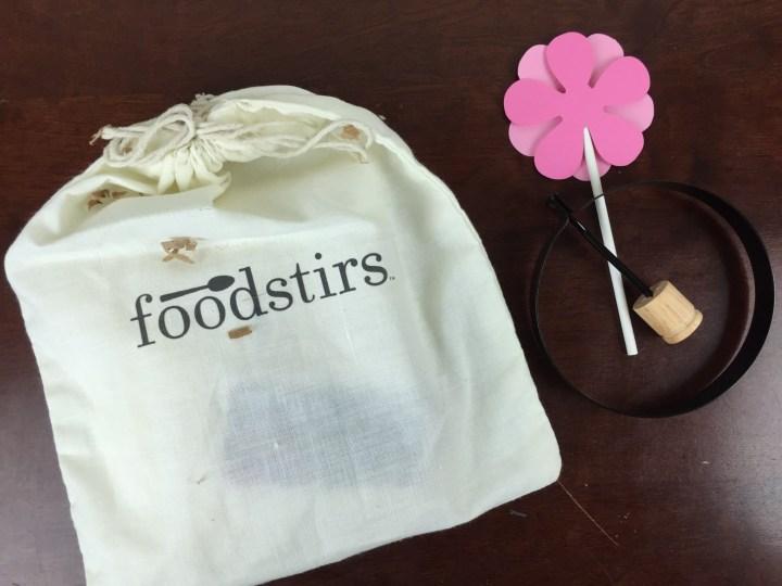 Foodstirs Box April 2016 review