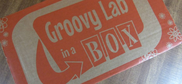 """Groovy Lab in a Box Subscription Box Review & Coupon – """"Keep on Turning"""""""