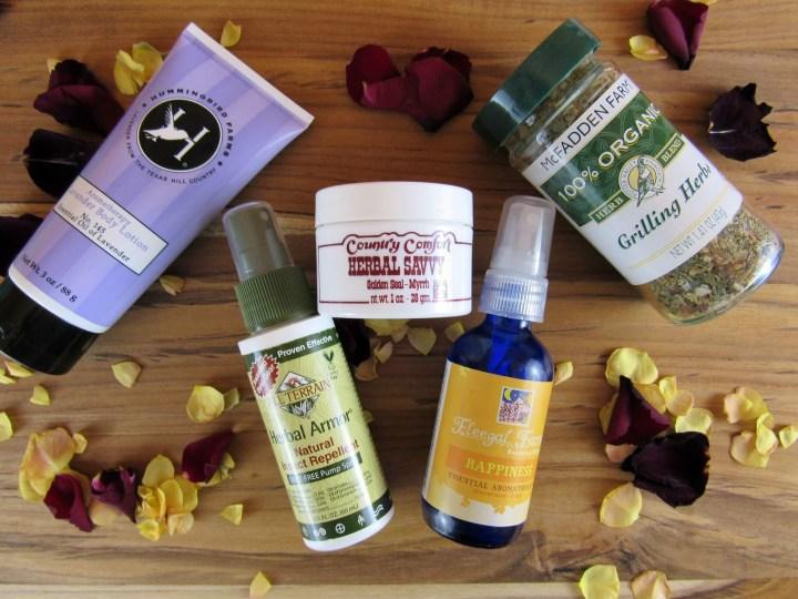 April 2016 Herbal Bliss Box