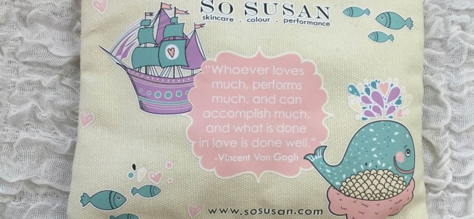 So Susan Lip Love Bag March 2016 Review & Coupon