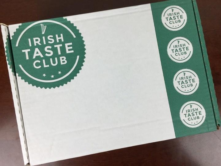 Irish Taste Club Box April 2016 box