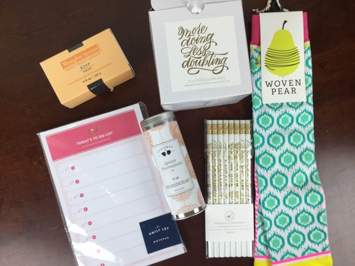 Luxily Boutique Box March-April 2016 review