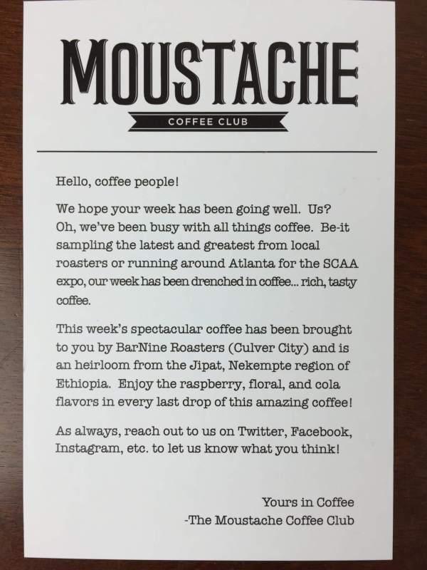 Moustache Coffee Club April 2016 (2)