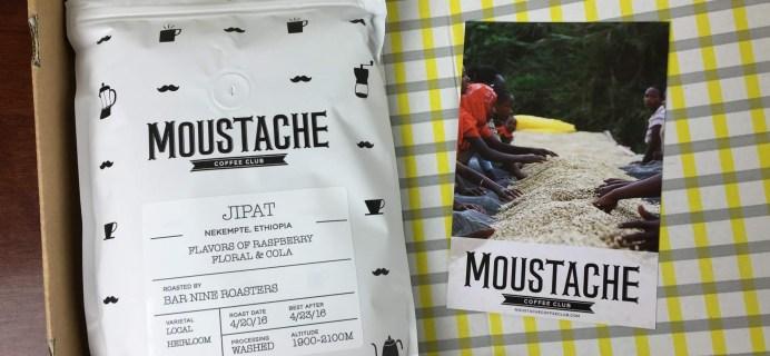 Moustache Coffee Club Subscription Review + Coupon – April 2016