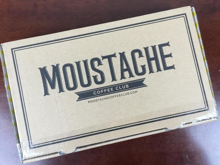 Moustache Coffee Club Box April 2016 box