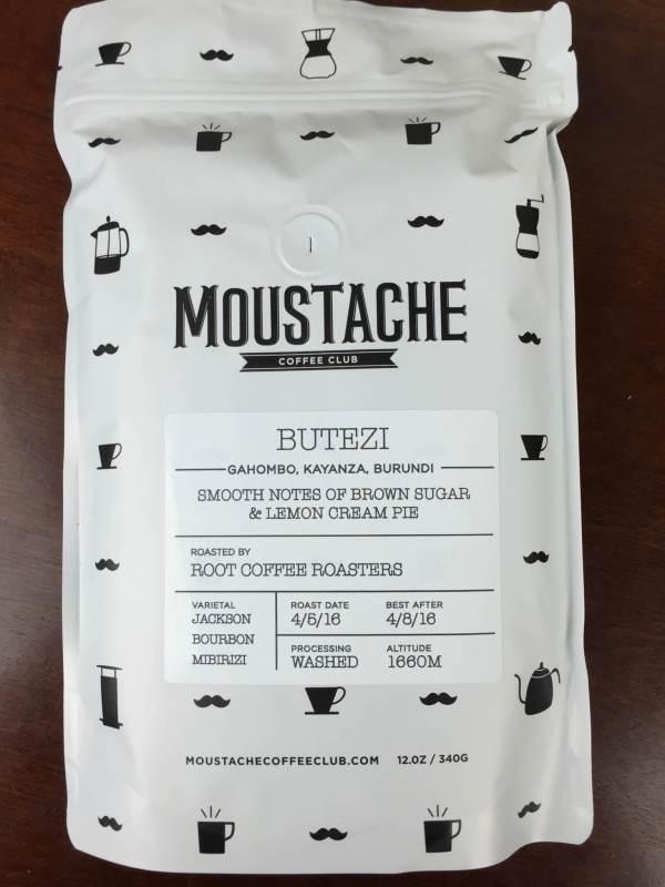 Moustache Coffee Club Box April 2016 review