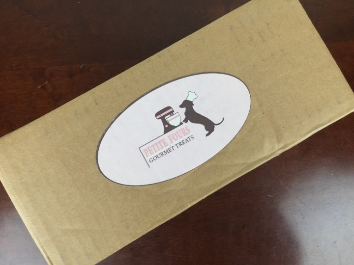 Petite Fours Treats Box April 2016 box