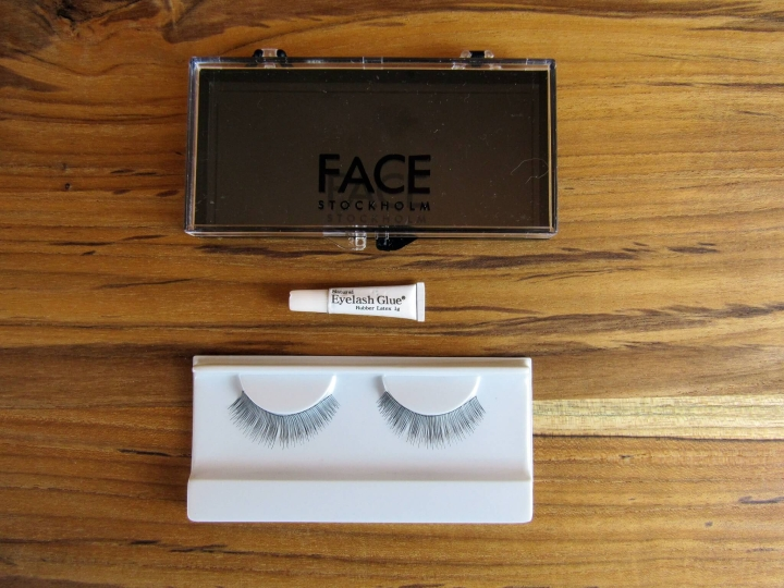 False Lashes from face Stockholm