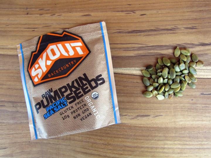 Skout BackCountry Raw Pumpkin Seeds Pacific Sea Salt