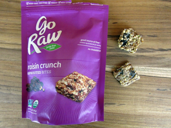 Go Raw Raisin Crunch Bites