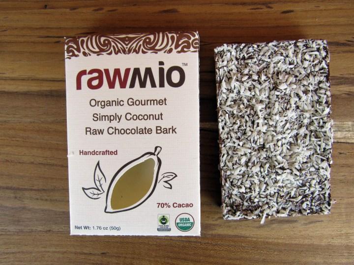 Rawmio Simply Coconut Raw Chocolate Bark