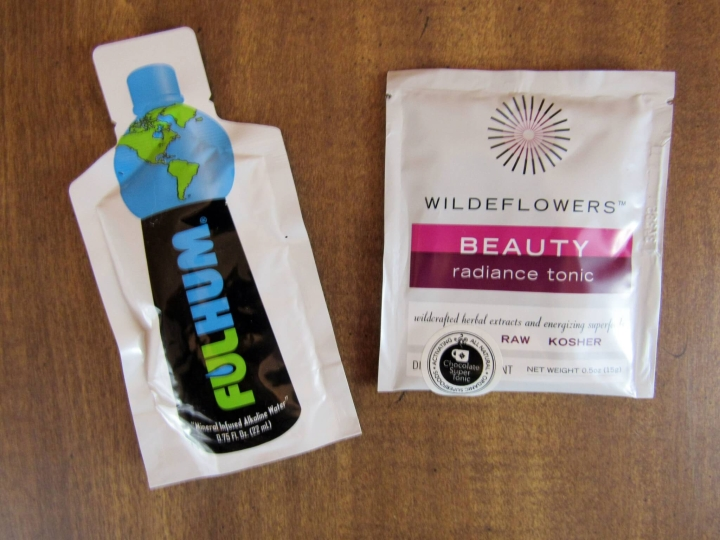 Fulhom Mineral Infused Alkaline Water and Wildeflowers Beauty Radiance Tonic