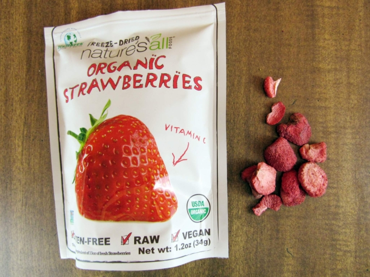 Natierra Nature's All Foods Freeze-Dried Strawberries