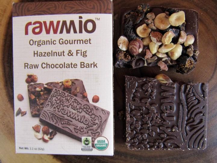 Rawmio Hazelnut and Fig Raw Chocolate Bark