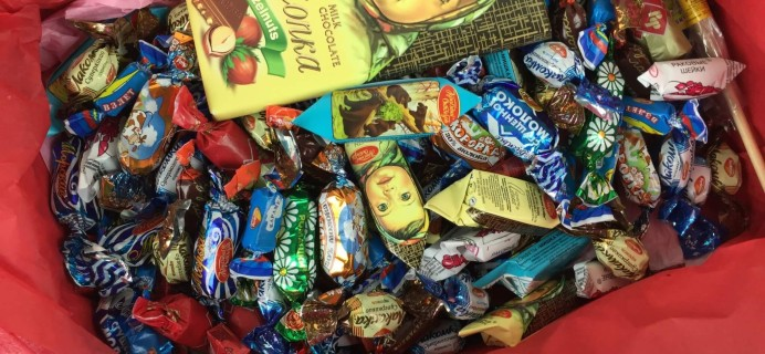 Russian Candy Box April 2016 Monthly Subscription Review + Coupon!