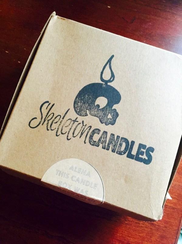 Skeleton Candles Box April 2016 box