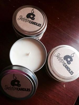 Skeleton Candles April 2016 Subscription Box Review + Coupon!
