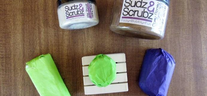 Sudz & Scrubz Shower Sudz Box Review & Coupon –  April 2016