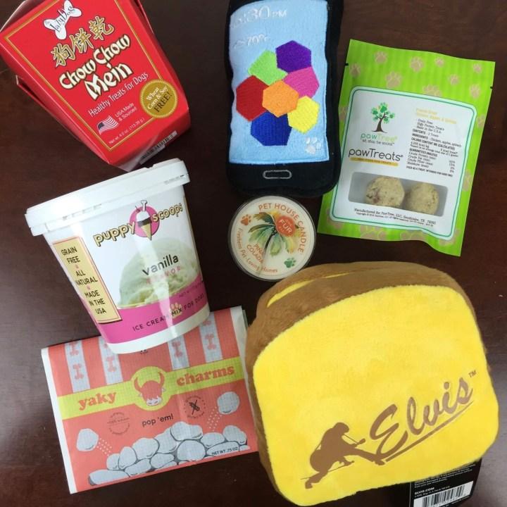 Surprise My Pet Box April 2016 review