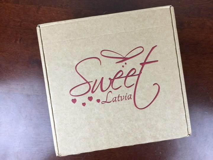 Sweet Latvia Box April 2016 box
