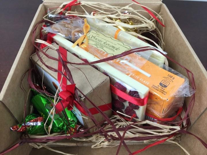 Sweet Latvia Box April 2016 unboxed