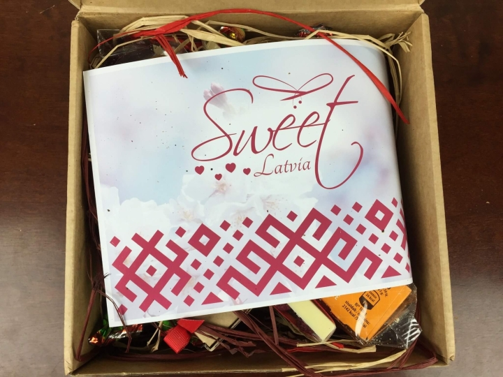 Sweet Latvia Box April 2016 unboxing
