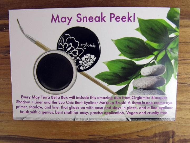 May Sneak Peek!