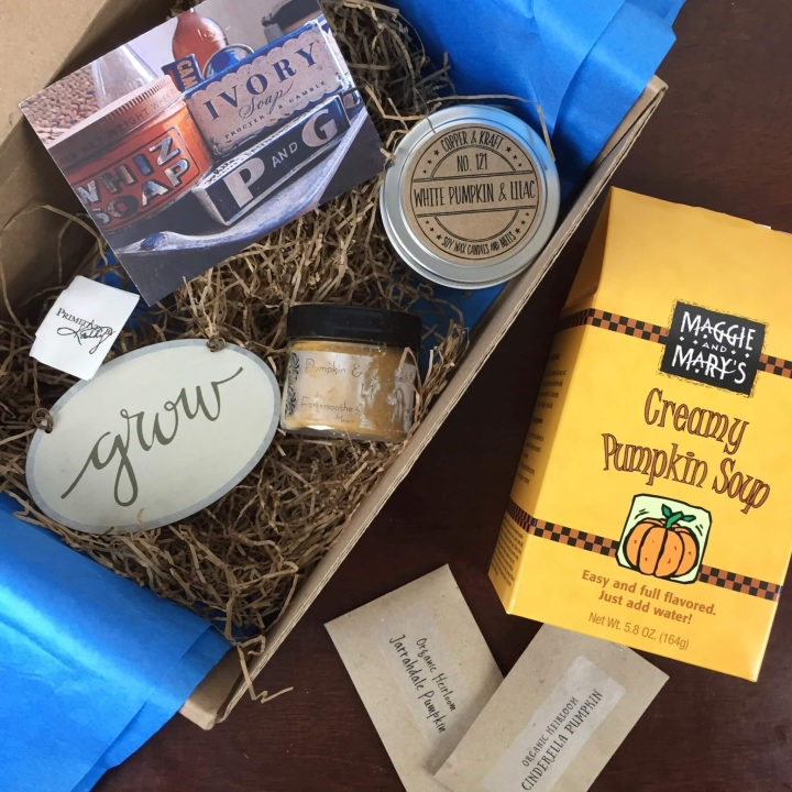 The Pumpkin Batch Box April 2016 review