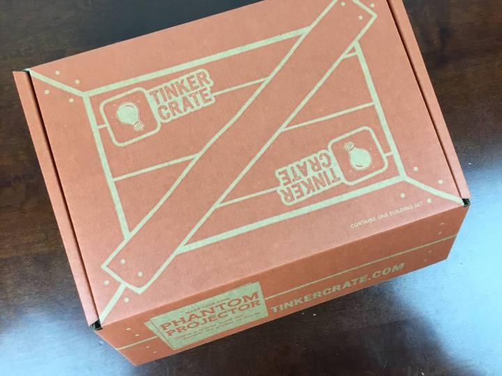 Tinker Crate April 2016 box