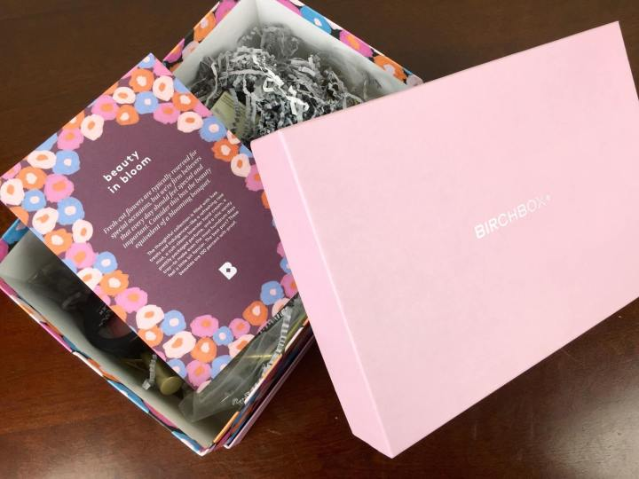 birchbox beauty in bloom unboxing