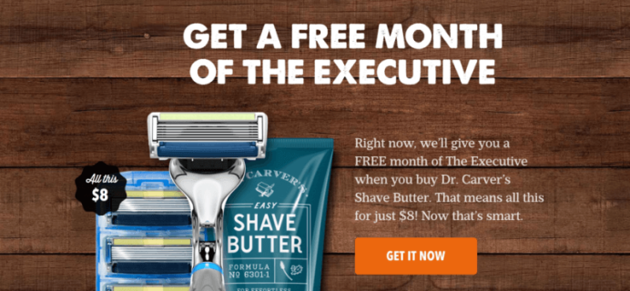 Free Month of Dollar Shave Club with Shave Butter Purchase! RARE!